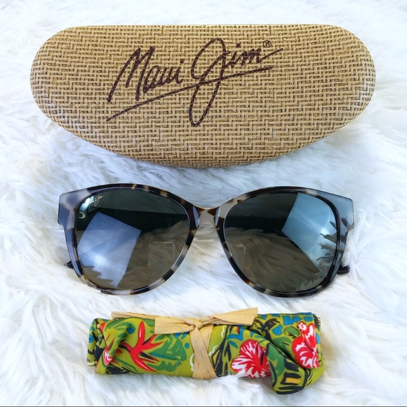 Maui Jim Sunglasses Summer Time GS732-05T White Tokyo Neutral Grey Polarized
